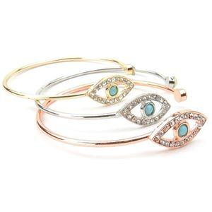 Evil Eye Cuff Bracelet